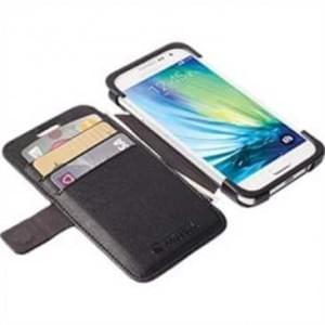 Krusell Tasche Malmö Flolio Case 76115 für Samsung Galaxy A7 SM-A700F - Schwarz