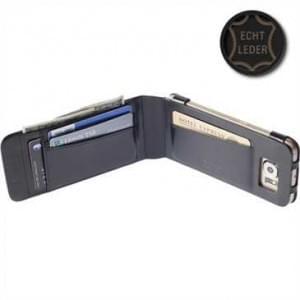 Krusell Tasche Kalmar WalletCase 76118 für Samsung Galaxy S6, Galaxy S6 Edge - Schwarz
