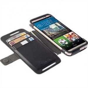 Krusell Tasche Malmö Folio Case Partner 76108 für HTC One M9 - schwarz