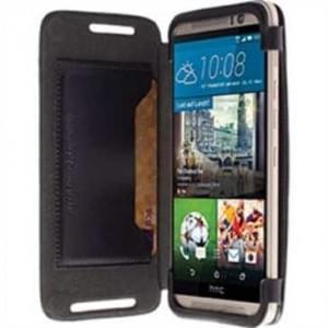Krusell Tasche Kiruna Flip Case Partner für HTC One M9 - Schwarz