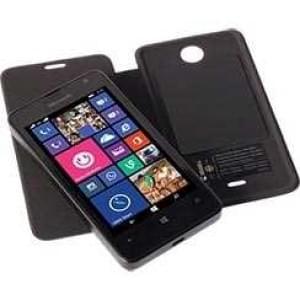 Krusell Tasche Ekerö Folio skin für Microsoft Lumia 430 Dual Sim - Schwarz