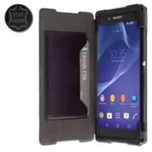 Krusell Tasche Kiruna FlipCase Partner 60202 f. Sony Xperia Z3+, Xperia Z3+ Dual, Xperia Z4 -Schwarz