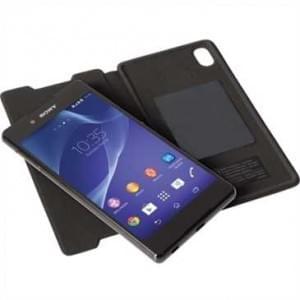 Krusell Tasche Ekerö Folioskin Partner 60226 für Sony Xperia Z3+, Xperia Z3+ Dual, Xperia Z4 - Braun