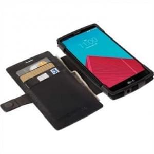 Krusell Tasche Malmö Folio Case Partner 60250 für LG G4, G4 Dual - schwarz