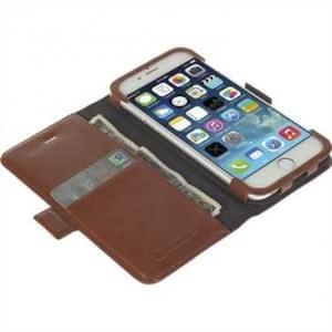 Krusell Tasche Ekerö FolioWallet 60444 für Apple iPhone 6, iPhone 6S - Coffee