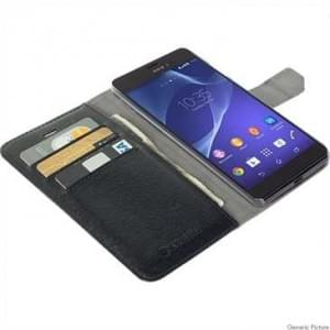 Krusell Tasche Boras Folio Wallet für Sony Xperia Z5 Schwarz