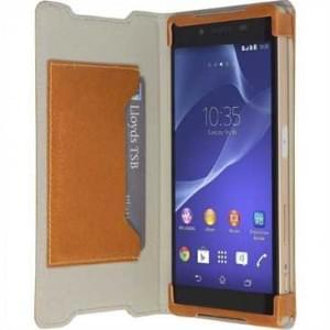 Krusell Tasche Kiruna Flip Case für Sony Xperia Z5 - Camel