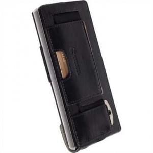 Krusell Tasche Ekerö Flexi FlipWallet 60420 für Sony Xperia Z5 Premium, Z5 Premium Dual - Schwarz
