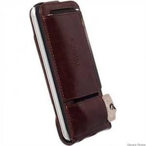 Krusell Tasche Ekerö Flexi FlipWallet 60421 für Sony Xperia Z5 Compact - Coffee