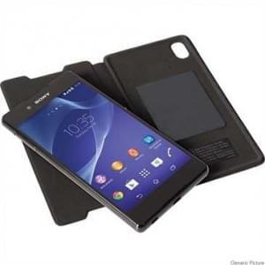 Krusell Tasche Ekerö Folioskin für Sony Xperia Z5 - Schwarz