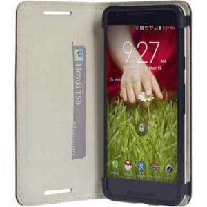 Krusell Tasche Malmö Folio Case 60474 für Google Nexus 5X, LG Nexus 5X - Schwarz