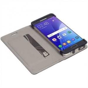 Krusell Tasche Malmö Folio Case für Samsung Galaxy A3 (2016) - Schwarz