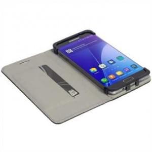 Krusell Tasche Malmö Folio Case für Samsung Galaxy S7 - Schwarz