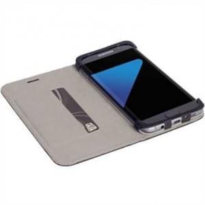 Krusell Tasche Malmö Folio Case 60580 für Samsung Galaxy S7 Edge - Schwarz