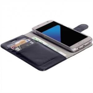 Krusell Tasche Ekerö FolioWallet 2in1 60571 für Samsung Galaxy S7 - Schwarz