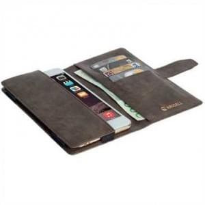 Krusell Vargön Wallet Case Handytasche Universal - Größe: 5XL - Braun