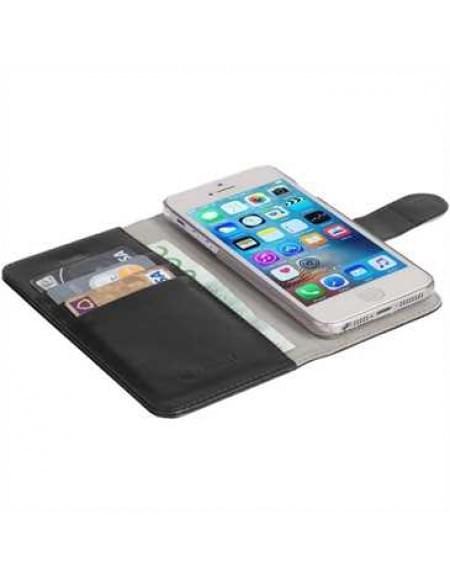 Krusell Tasche Ekerö FolioWallet 2in1 60594 für Apple iPhone SE, iPhone 5S, iPhone 5 - Schwarz