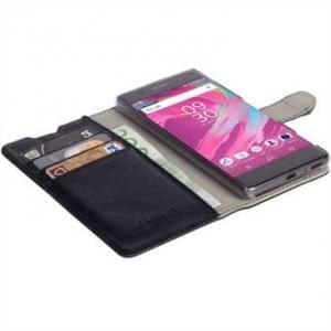 Krusell Tasche Boras FolioWallet Partner 60620 für Sony Xperia XA - Schwarz