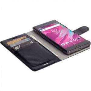 Krusell Tasche Ekerö FolioWallet 2in1 Partner 60627 für Sony Xperia X - Schwarz