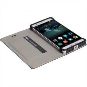 Krusell Tasche Malmö Folio Case für Huawei P9 Lite Schwarz