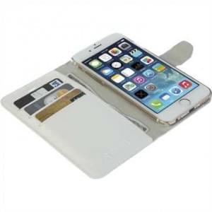 Krusell Tasche Boras Folio Wallet für Apple iPhone 8 Plus / 7 Plus - Weiß