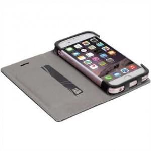 Krusell Tasche Malmö Folio Case für Apple iPhone 7 / 8 - Schwarz