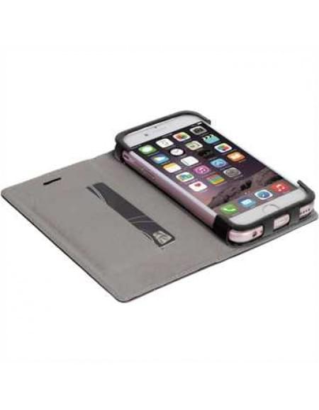 Krusell Tasche Malmö Folio Case 60728 für Apple iPhone 7 - Schwarz