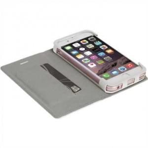 Krusell Tasche Malmö Folio Case für Apple iPhone 8 Plus / 7 Plus - Weiß