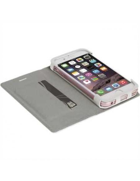 Krusell Tasche Malmö Folio Case 60759 für Apple iPhone 7 Plus - Weiß