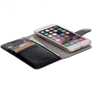 Krusell Tasche Ekerö Folio Wallet 2in1 für Apple iPhone 7 / 8 - Schwarz