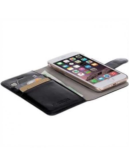 Krusell Tasche Ekerö Folio Wallet 2in1 für Apple iPhone 7 - Schwarz