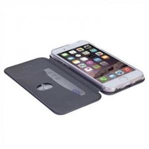 Krusell Tasche Orsa Folio Case 60733 für Apple iPhone 7 - Schwarz