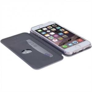 Krusell Tasche Orsa Folio Case für Apple iPhone 7 / 8 - Silber