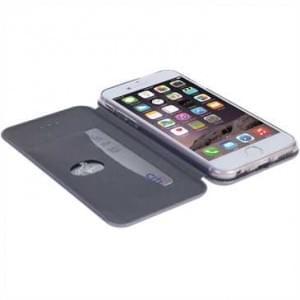 Krusell Tasche Orsa Folio Case für Apple iPhone 8 Plus / 7 Plus - Silber