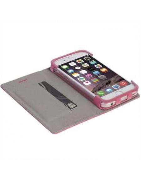 Krusell Tasche Malmö Folio Case 60730 für Apple iPhone 7 - Pink