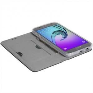Krusell Tasche Malmö 4 Card Folio Case für Samsung Galaxy A5 (2017 - Schwarz