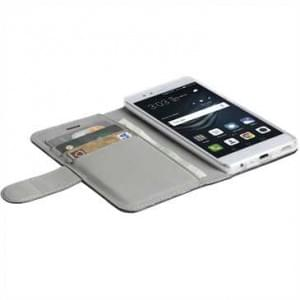 Krusell Tasche WoW Icon 3 Card Folio case für Huawei P10 - schwarz