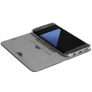 Krusell Malmö 4 Card Folio Case Tasche für Samsung Galaxy S8 - 4 Kreditkartenfächer - schwarz