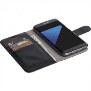 Krusell Tasche Ekerö Folio Wallet 2in1 für Samsung Galaxy S8 Plus - Schwarz