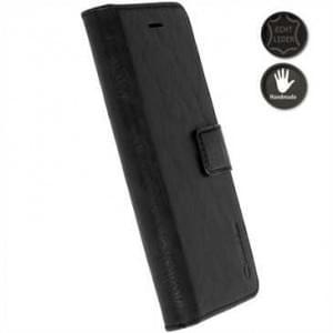 Krusell Echt Ledertasche Sunne 5 Card Folio Case für Huawei P10 Lite - brown