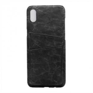 Krusell Tumba 2 Card Cover / Schutzhülle für Apple iPhone X / Xs - Black Marble