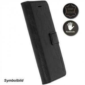 Krusell Echtleder Tasche Sunne 5 Card Folio Case für Huawei Honor 9 - black