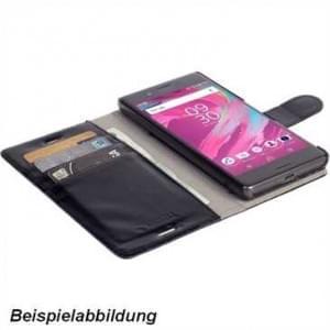 Krusell Tasche Ekerö Wallet 2in1 Partner für Sony Xperia XZ1 Compact - Schwarz