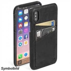 Krusell Sunne 2 Card Cover für Apple iPhone 8 Plus / 7 Plus - Vintage Black