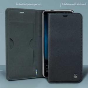 Krusell Malmö 4 Card Folio Case für Huawei Mate 10 Lite - 4 Kreditkartenfächer - Schwarz