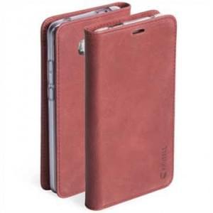 Krusell Sunne 2 Card Handytasche für Huawei Mate 10 Pro - Vintage Red