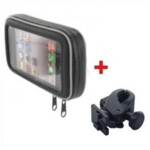 XiRRiX Biker Taschen Set - inkl. Halterung - für Smartphones bis ca.125,7 x 66,5mm (Large)