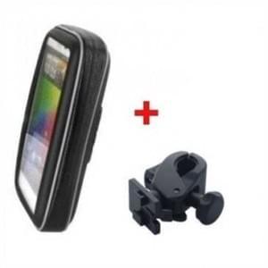 XiRRiX Biker Taschen Set - inkl. Halterung - für Smartphones bis ca. 135 x 71 mm (XL)