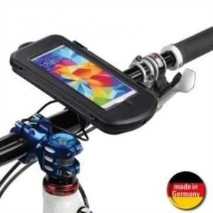 Fahrrad Motorrad Waterproof Splashbox M + Bikemount 11 für Lenkstange f. Geräte bis 145 x78x13,4 mm