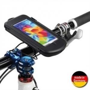 Fahrrad Motorrad Waterproof Splashbox S + Bikemount 11 für Lenkstange f. Geräte bis 128 x 65 x 12 mm